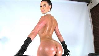 Kendra Lust is here to exploit her Assets. This babe is totally ready to break the internet and take some hard cock! This big booty nymphomaniac bares all on this exclusive Bangbros photo shoot. She strips and guzzles on dick like a fucking pro. Watch as