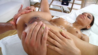 Extremely hot anal sex massage video