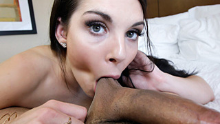Sexy Nina Noxx nailed real hard in POV