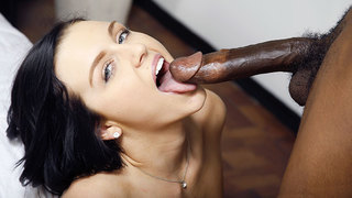 The demand to see Marley Matthews with a black cock is one we just fulfilled. Marleys body is so used to white guys that her first black cock experience may have gone sour. However,we got her Moe The Monster to formally introduce her to the world of Inter
