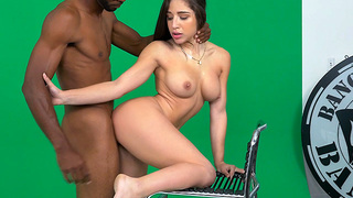"Abella Danger showed up to film a BangBros promo. She had the unfortunate luck to be paired up with a director that thought he was the king of the world. Everything she said and did was not part of the artistic vision. Yelling ""cut"" after ""cut!"" I"