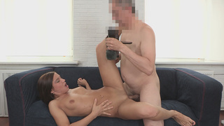 Alluring Azizza got that pink pussyp ounded hard