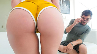 Daisy Stone was pumped and ready to get her booty outside for a day of intense excercise! Too bad the weather wasn't permitting. She didn't want to waste the day so she invited a masseuse over to relax her tense muscles. They both start feeling the heat a